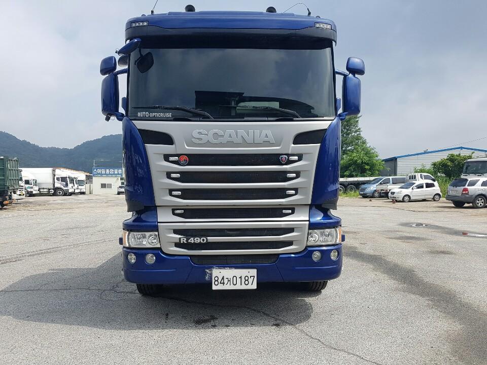 스카니아25.5톤 490 카고/34만